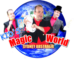 Sydney Kids Birthday Party Magic Shows & lessons