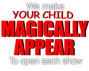 Show bags for school fetes - Birthday Party Magic Show Sydney