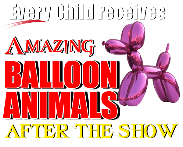 Kids magician balloon animals gifts
